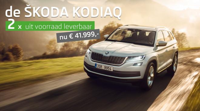 KODIAQ-Banner-Huidig-Model 2X VOORRAAD